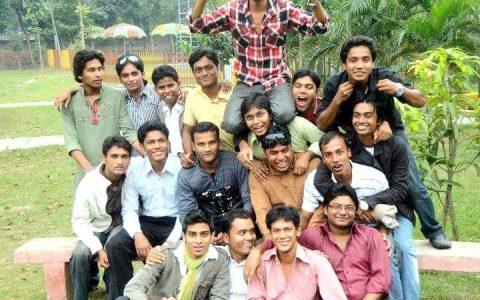 raquibul islam with friends